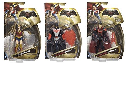 Bundle Set of 3 Superheroes Action Hero Figures Comic Characters