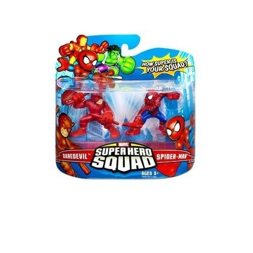 Marvel Superhero Squad Series 7 Daredevil Spider-Man Action Figure by Super Hero Squad