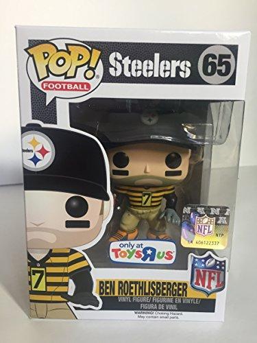Funko POP NFL Ben Roethlisberger Toys R Us Exclusive Steelers Throw Back Jersey Figure