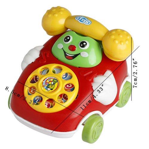 MEXUD Baby Toys Music Cartoon Phone Educational Developmental Kids Toy Gift