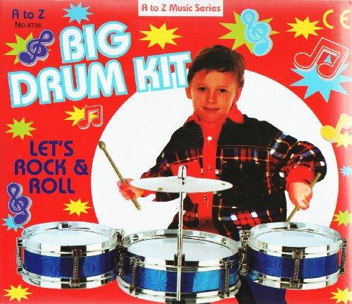 Big Drum Kit - Childrens Toy Musical Instrument