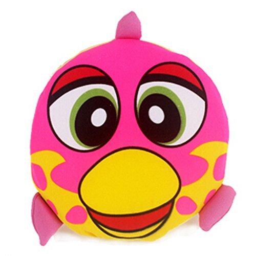 Kids Outdoor Toy EVA Flying Disc Frisbee Pink