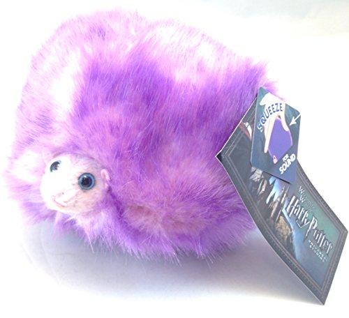 Universal Studios Wizarding World of Harry Potter 6 Singing Purple Pygmy Puff Plush Toy with Sound