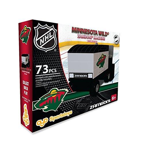 Minnesota Wild OYO Building Blocks NHL Zamboni Machine 73 pcs