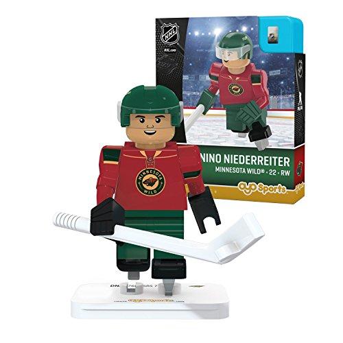 Nino Niederreiter OYO NHL Minnesota Wild G3 Gen3 LE Mini Figure