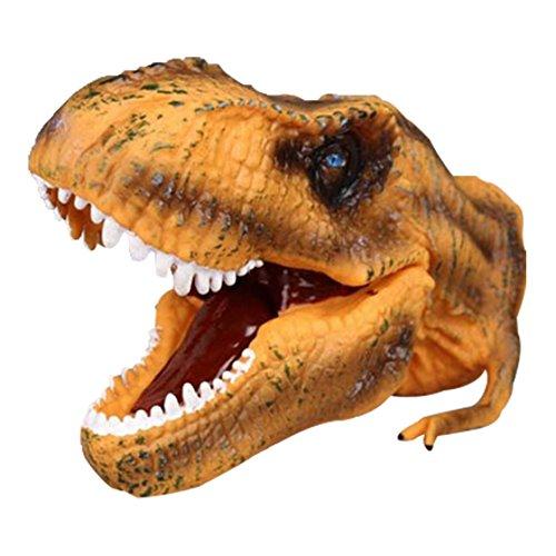Happy Cherry Dinosaur Models Interactive Toys Hand Puppet Toy Tyrannosaurus Rex