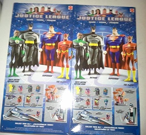 Justice League 10 2 Pack Superman and Batman Figures