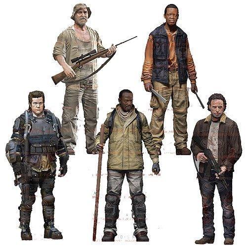 The Walking Dead action figure TV Series 8 5 pieces The Walking Dead TV Series 8 Set of 5 parallel import goods