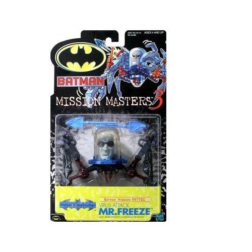 Batman The New Batman Adventures Mission Masters 3 Virus Attack Mr Freeze Action Figure by Batman
