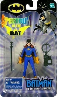 BATMAN SPECTRUM OF THE BAT SONIC STUN BATGIRL ACTION FIGURE