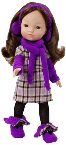 Berjuan Fashion Girl Doll Purple by Berjuan