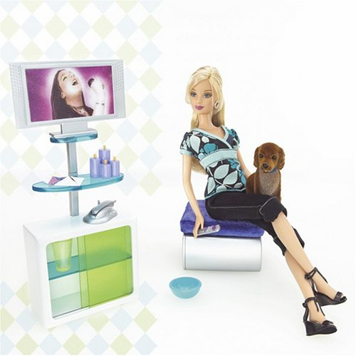 Barbie Fashion Fever Doll And Accessories
