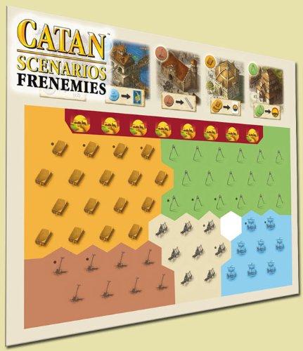 Mayfair Games Catan Scenarios Frenemies of Catan Board Game