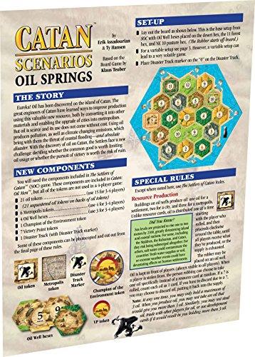 Mayfair Games Catan Scenarios Oil Springs Board Game