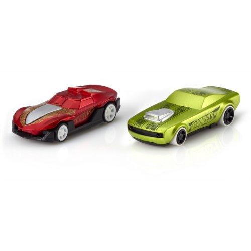 Mattel Hot Wheels Apptivity Set Of 2 Cars Power Rev and Yur So Fast