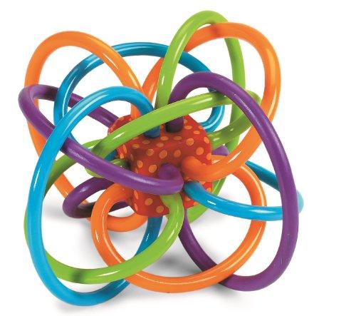Manhattan Toy Winkel Rattle Sensory Teether Toy