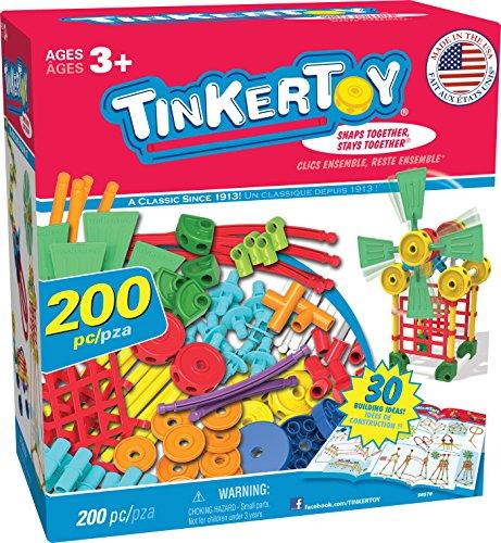 TINKERTOY 30 Model Super Building Set Amazon Exclusive