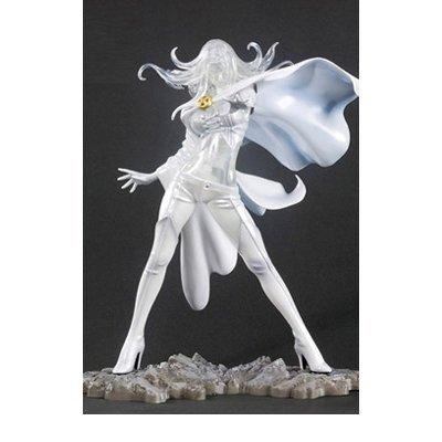Marvel XMen SDCC 2011 Exclusive Kotobukiya Bishoujo 18 Scale PVC Statue Emma Frost by Marvel Statues Busts Prop Replicas