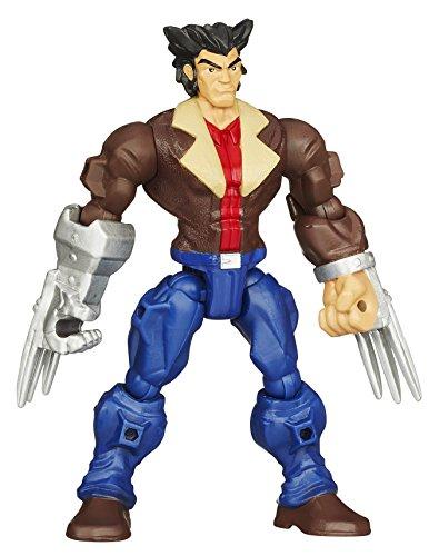 Marvel Hero Mashers Wolverine Action Figure B0692