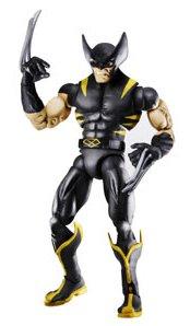Marvel Legends Exclusive Red Hulk Build-A-Figure Wave Action Figure Black Wolverine