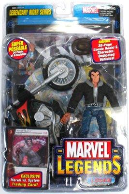 Marvel Legends Legendary Rider Series Civilian Wolverine Variant Action Figure