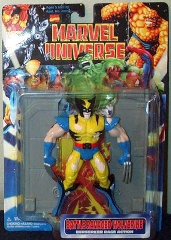 Marvel Universe Battle Ravaged Wolverine Action Figure