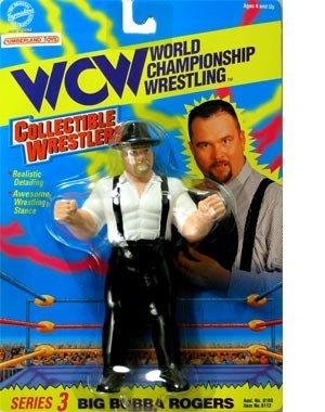 WCW Big Bubba Rogers Wrestling Action Figure WWF WWE NWO