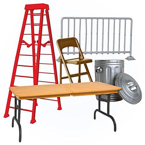 Wrestling Action Figure Accessories Set of 5 Wrestling Props