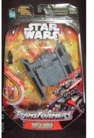 Star Wars 30th Anniversary Saga 2007 Transformers Action Figure Darth Vader to TIE Advanced