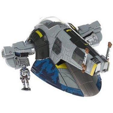 Star Wars Saga 06 Transformers Action Figure Jango Fett to Slave 1