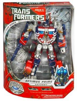 Transformers Movie Hasbro Leader Action Figure Premium Optimus Prime