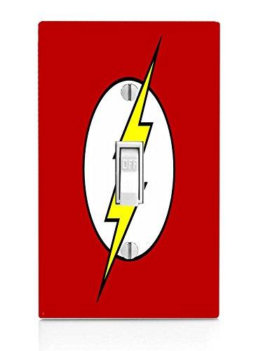 Comic Book Hero Light Switch Plate