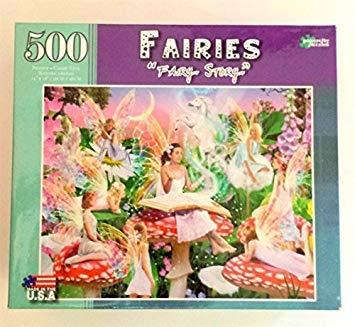 Fairies 500 Piece Puzzle Fairy Story