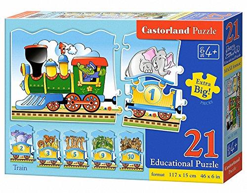 Castorland Train Premium Educational Jigsaw