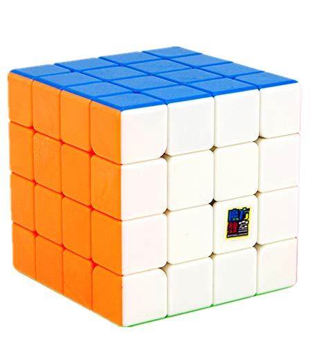 LiangCuber Moyu MoFang JiaoShi Meilong 4x4 stickerless Magic Cube MFJS MEILONG 4x4x4 Cubing Classroom Children Puzzle Toys