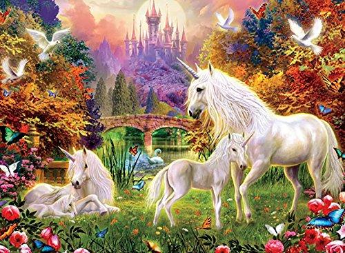 Ceaco The Castle Unicorn Puzzle 100 Piece
