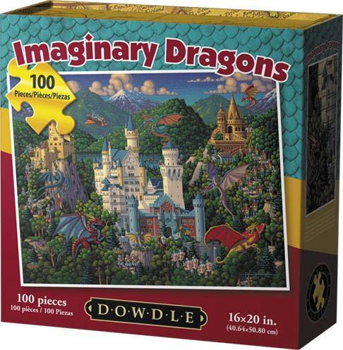 Dowdle Jigsaw Puzzle - Imaginary Dragons - 100 Piece