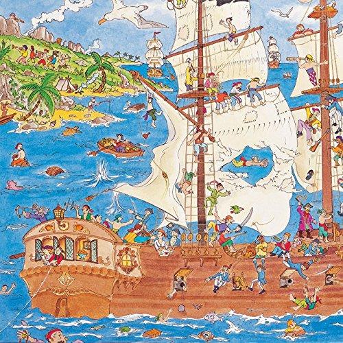 Pirates Observation Puzzle - 100 pcs