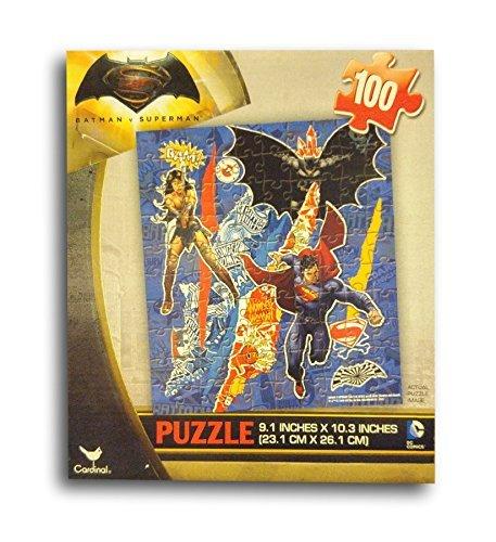 Batman VS Superman the Movie 100pc Wonder WomanBatmanSuperman Puzzle by DC Comics