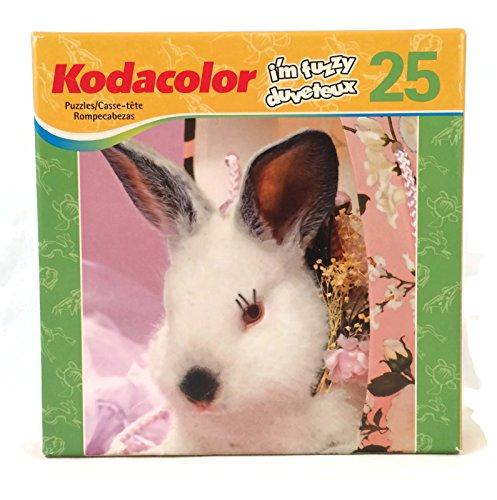 Kodacolor 25 Piece Im Fuzzy Bunny Puzzle