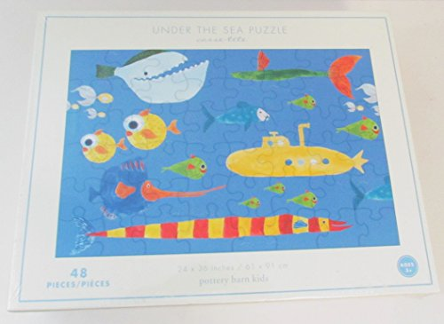 Pottery Barn Kids Under the Sea Puzzle 48 pcs