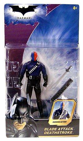 Batman Dark Knight Movie Action Figure Blade Attack Deathstroke