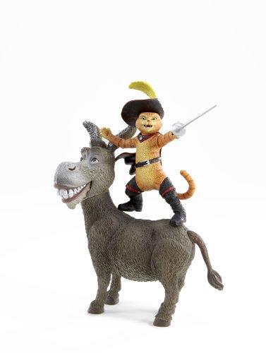 Shrek Movie Action Figure Donkey Puss N Boots