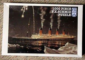 FX Schmid 1000 pc Puzzle Titanic No 98145