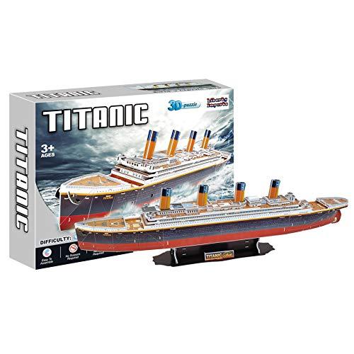 RMS Titanic 3D Puzzle 113 Pieces