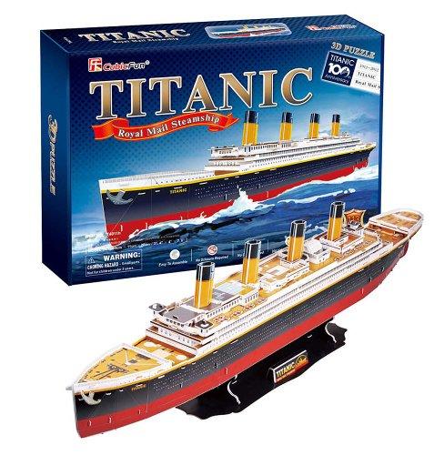 Titanic - Royal Mail Steamship BIG SIZE 3D Puzzle - Cubic Fun Series