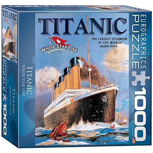 Titanic White Star Line Puzzle 1000-Piece