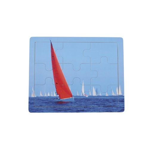 Childrens Transportation Puzzle- Sail Boats