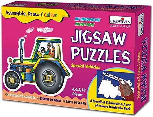 Creative Educational Creative Jigsaw Puzzles Transport