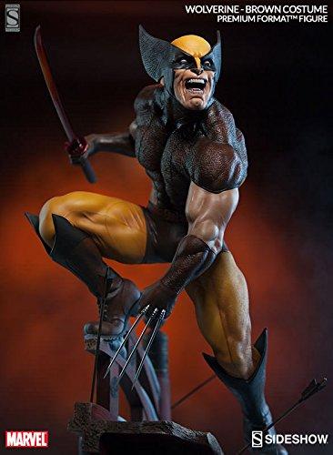 Sideshow Marvel Wolverine - Brown Costume Premium Format Figure Statue